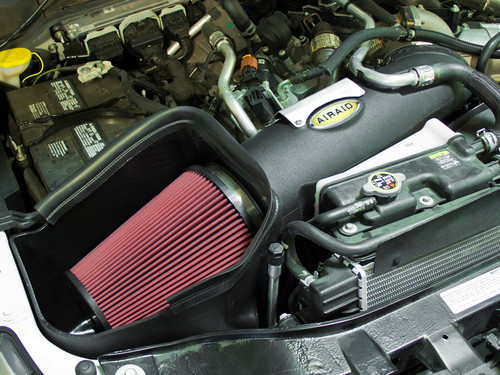 AIRAID MXP COLD AIR INTAKE SYNTHAMAX DRY FILTER 2011-2013 FORD SUPER DUTY POWERSTROKE DIESEL 6.7L V8 - 401-278
