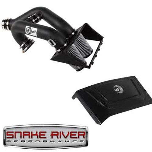 51-12182 & 54-12188 - AFE POWER COLD AIR INTAKE 2011 FORD F150 ECOBOOST V6 3.5L PRO DRY S MAGNUM FORCE WITH COVER