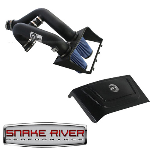 54-12182 - 54-12188 - AFE POWER COLD AIR INTAKE 2011 FORD F150 ECOBOOST V6 3.5L PRO 5R MAGNUM FORCE WITH AFE COVER