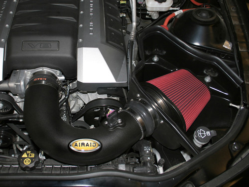 AIRAID MXP SERIES OILED COLD AIR DAM INTAKE SYSTEM 10-15 CHEVY CAMARO SS 6.2L V8 - 250-305