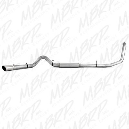 "S6204AL - MBRP 4"" EXHAUST 1999-2003 FORD EXCURSION POWERSTROKE DIESEL 7.3L TURBO BACK"