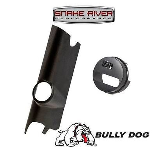 32306 30420 - BULLY DOG A PILLAR MOUNT WITH ADAPTER 2011-2014 JEEP JK WRANGLER 3.6L