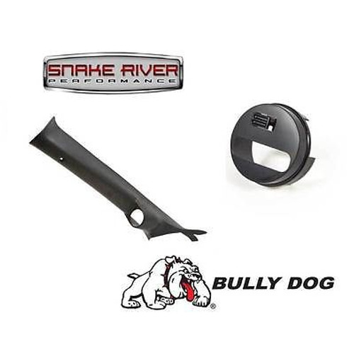 31304 30420 - BULLY DOG A PILLAR MOUNT WITH ADAPTER 2011-2014 FORD F250 F350 6.2L 6.7L
