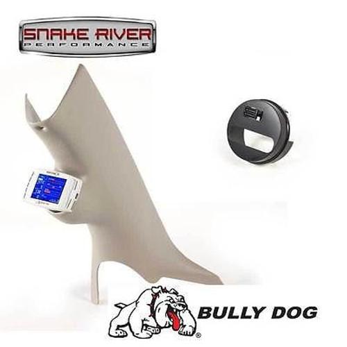 32303 30420 - BULLY DOG A PILLAR MOUNT WITH ADAPTER 2003-2009 DODGE RAM 1500 2500 3500