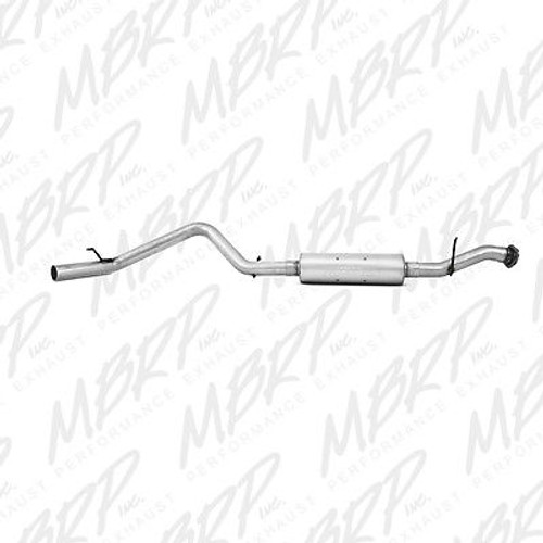 S5026P - MBRP EXHAUST 2000-2006 CHEVY TAHOE GMC YUKON 5.3L CAT BACK NO TIP