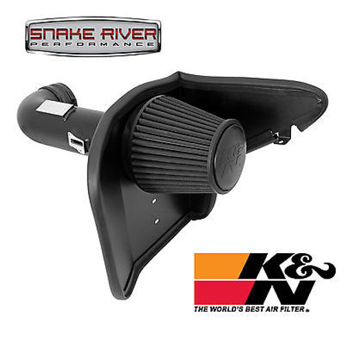 71-4519 - K&N BLACKHAWK DRY COLD AIR INTAKE 2010-2013 CHEVY CAMARO SS 6.2L V8 NON CARB