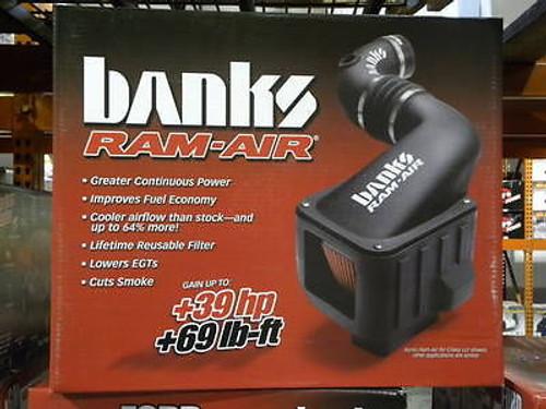 42132-D - BANKS DRY RAM AIR INTAKE 01-04 CHEVY GMC DURAMAX DIESEL LB7 6.6L 2500HD 3500