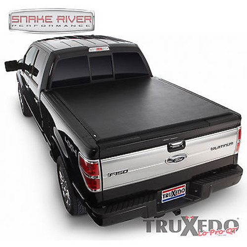597701 - TRUXEDO LO PRO QT SOFT ROLL UP TONNEAU COVER 2015 FORD F150 5.5' BED