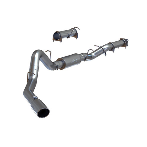 "S6000AL - MBRP 4"" CAT BACK EXHAUST 2001-2005 CHEVY GMC 2500 3500 6.6L DURAMAX ALUMINIZED"