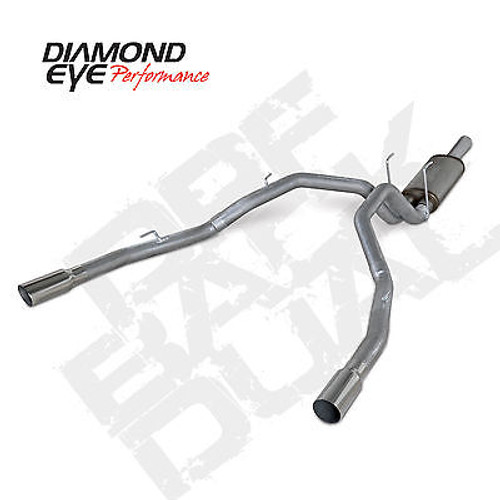 "K3264A - DIAMOND EYE 3"" FILTER BACK 2014-2016 DODGE RAM 1500 3.0L ECODIESEL TURBO DIESEL ALUMINIZED"