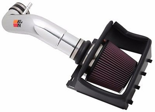 K&N COLD AIR INTAKE 2011-2014 FORD F150 5.0L V8  77-2581KP NON CARB POLISHED - 77-2581KP