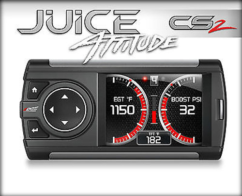 EDGE TUNER CS 2 JUICE WITH ATTITUDE FOR 01-04 CHEVY GMC 6.6L DURAMAX DIESEL - 21400