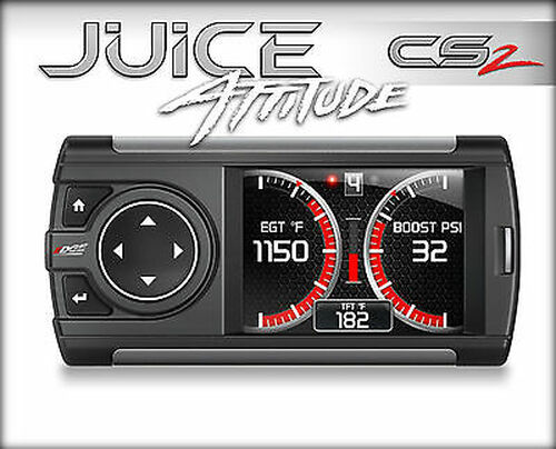 EDGE TUNER CS 2 JUICE WITH ATTITUDE FOR 04.5-05 CHEVY GMC 6.6L DURAMAX DIESEL - 21401