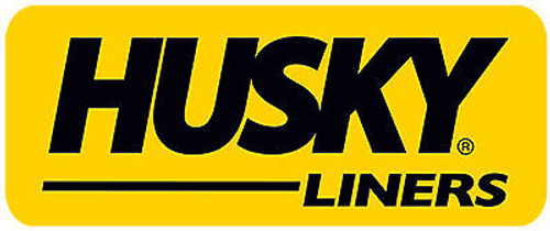 HUSKY LINERS FRONT MUD FLAPS MUD GUARDS BLACK FOR 2011-2015 Dodge Durango - 59001