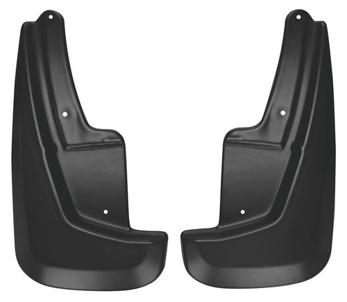 HUSKY LINERS FRONT FORM FIT MUD FLAPS MUD GUARDS 2011-2018 DODGE DURANGO 58001
