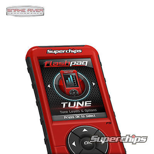 3845 - SUPERCHIPS FLASHPAQ F5 TUNER FOR 98-14 DODGE RAM GAS