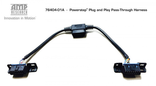 AMP RESEARCH POWERSTEP RUNNING BOARD PLUG N PLAY PASS THROUGH HARNESS 76404-01A