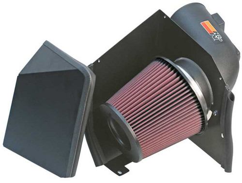 K&N PERFORMANCE AIR INTAKE SYSTEM FOR 05-07 CHEVY GMC DURAMAX DIESEL 6.6L - 57-3000