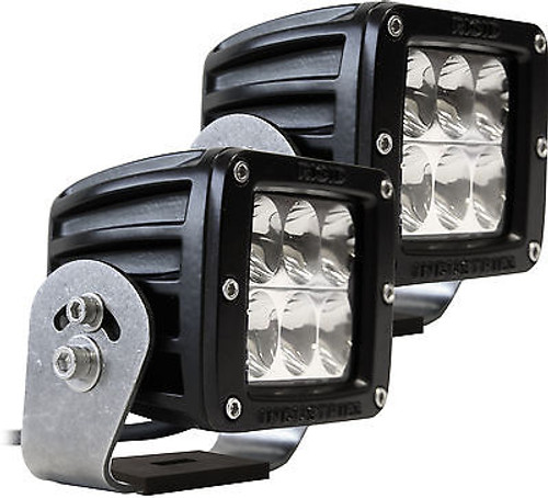 522313 - RIGID INDUSTRIES D-SERIES D2 HD SPECTER DRIVING LED LIGHT PAIR BLACK