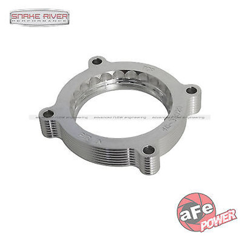 46-33020 - AFE ALUMINUM THROTTLE BODY SPACER FOR 15-16 FORD MUSTANG GT 5.0L