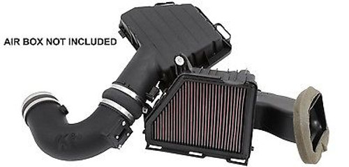 BBWQ57-3074 - K&N INTAKE ELBOW AND FILTER FOR 10-14 CHEVY CAMARO SS 6.2L