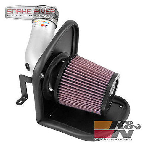 BBWQ69-3537TS - K&N POLISHED COLD AIR INTAKE FOR 13-16 FORD ESCAPE TURBO ECOBOOST 1.6L 2.0L