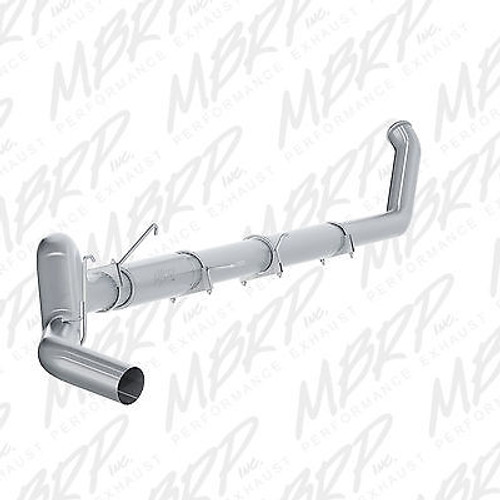 "S61140P - MBRP 5"" TURBO BACK PERFORMANCE EXHAUST FOR 03-04 DODGE RAM CUMMINS TURBO DIESEL"