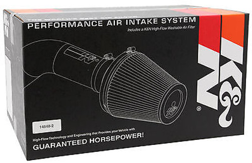 77-2550KP - K&N PERFORMANCE COLD AIR INTAKE SYSTEM 97-04 FORD F150 4.2L POLISHED 77-2550KP