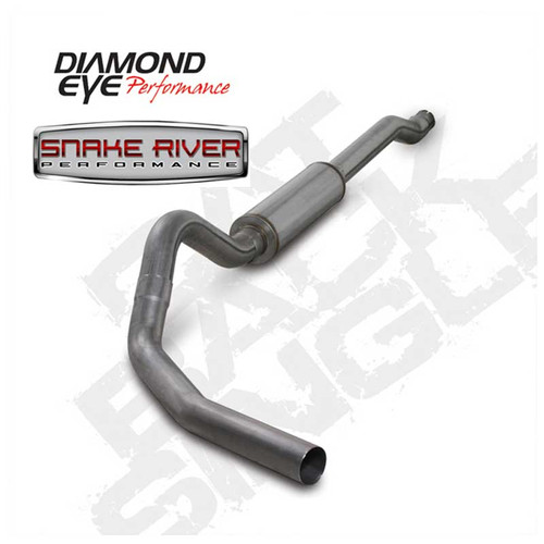 "K4338S - DIAMOND EYE 4"" EXHAUST 2003-2007 FORD POWERSTROKE DIESEL 6.0L STAINLESS CAT BACK"