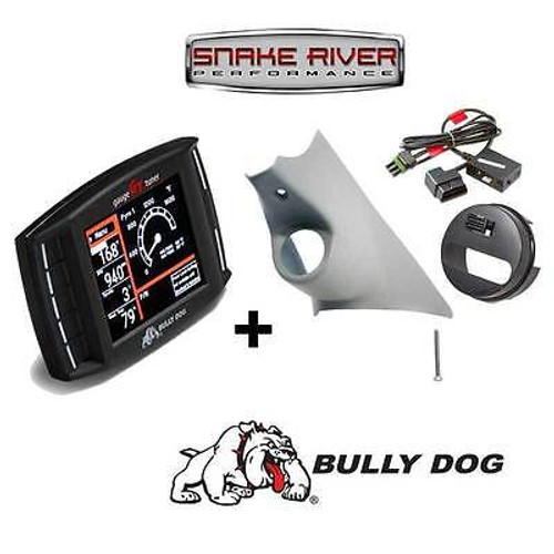BULLY DOG TRIPLE DOG GT DIESEL WITH PILLAR MOUNT 13-17 DODGE 6.7L AND PCM UNLOCK WITH LEATHER DASH - 40420 32308 42214