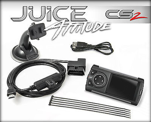 EDGE TUNER CS 2 JUICE WITH ATTITUDE FOR 2007-2012 DODGE RAM 6.7L CUMMINS DIESEL - 31405