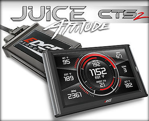 EDGE CTS 2 JUICE WITH ATTITUDE FOR 13-18 DODGE RAM CUMMINS DIESEL 2500 3500 6.7L - 31507