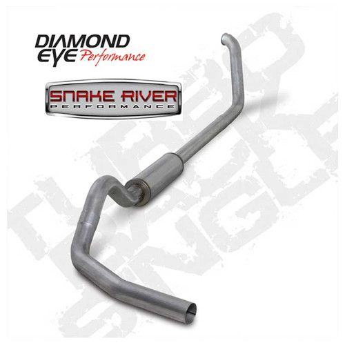 "K4318A - DIAMOND EYE 4"" EXHAUST 99-03 FORD POWERSTROKE F250 F350 DIESEL 7.3L TURBO BACK"