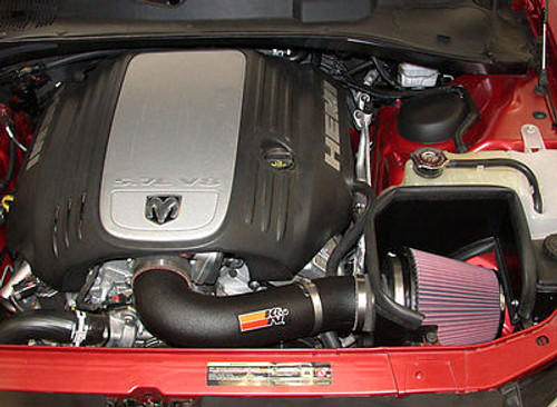 57-1542 - K&N AIR INTAKE 2005-2014 DODGE CHARGER CHALLENGER MAGNUM CHRYSLER 300C 5.7L 6.1L