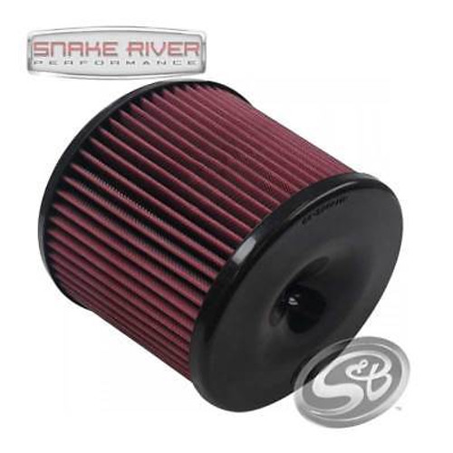 S&B COLD AIR INTAKE REPLACEMENT OILED FILTER COTTON CLEANABLE WASHABLE KF-1056