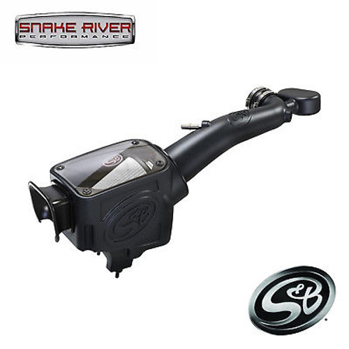 S&B COLD AIR INTAKE DRY FOR 2018-2019 JEEP WRANGLER JL RUBICON 3.6L 75-5121D