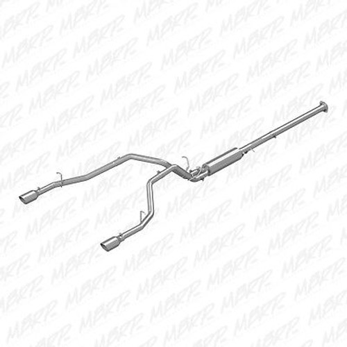 MBRP DUAL EXHAUST 2019 DODGE RAM 1500 HEMI 5.7L REAR EXIT T409 STAINLESS STEEL