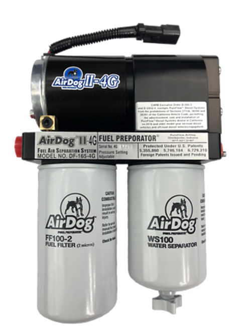 AIRDOG 2 4G FUEL SYSTEM FOR 98.5-04 DODGE RAM CUMMINS DIESEL 5.9L 100 GPH VP-44 - A6SPBD354