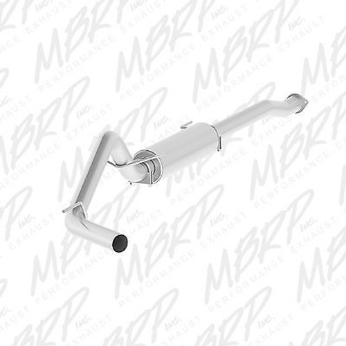 """MBRP 3"""" CAT BACK PERFORMANCE EXHAUST FOR 2016-2019 TOYOTA TACOMA 3.5L"""