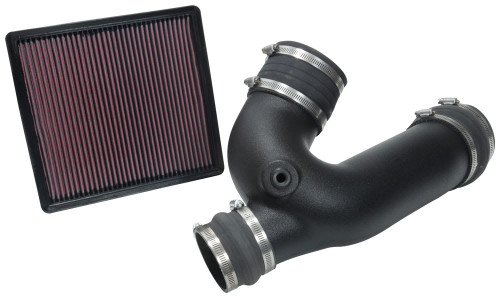 K&N PERFORMANCE AIR INTAKE FOR 2018-2019 FORD F150 2.7L OILED FILTER WITH TUBE 57-2602