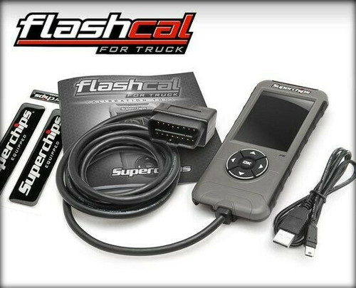 SUPERCHIPS FLASHCAL F5 CALIBRATION TOOL FOR 99-19 FORD POWERSTROKE DIESEL 1545