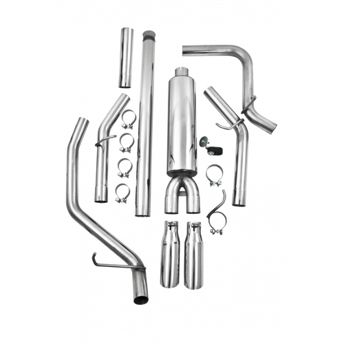 "MBRP 3"" CAT BACK EXHAUST FOR 2014-2018 CHEVY SILVERADO GMC SIERRA 1500 T409 S5082409"