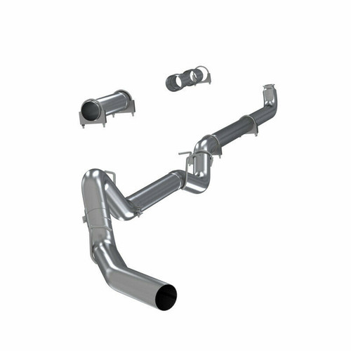 "MBRP 4"" EXHAUST 04.5-07 CHEVY GMC DURAMAX DIESEL 6.6L NO MUFFLER with DOWNPIPE"