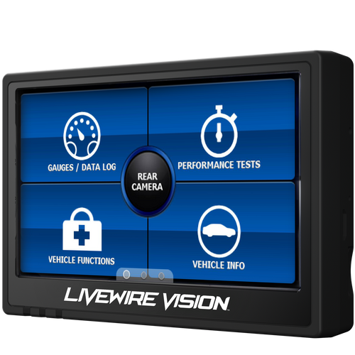 SCT LIVEWIRE VISION PERFORMANCE MONITOR ONLY 1999-2020 FORD 5015PWD
