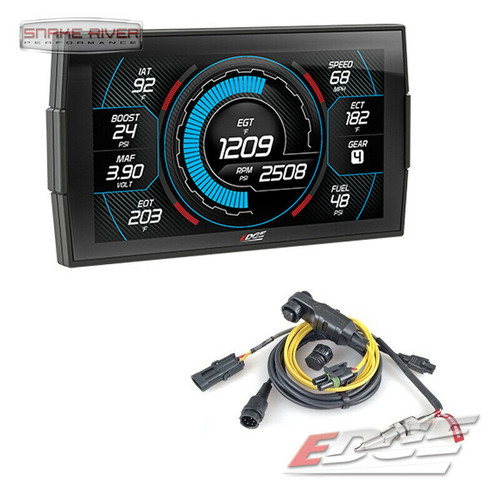 EDGE CTS 3 INSIGHT MONITOR FOR 1996 AND UP FORD DODGE CHEVY 84130-3 with PYRO