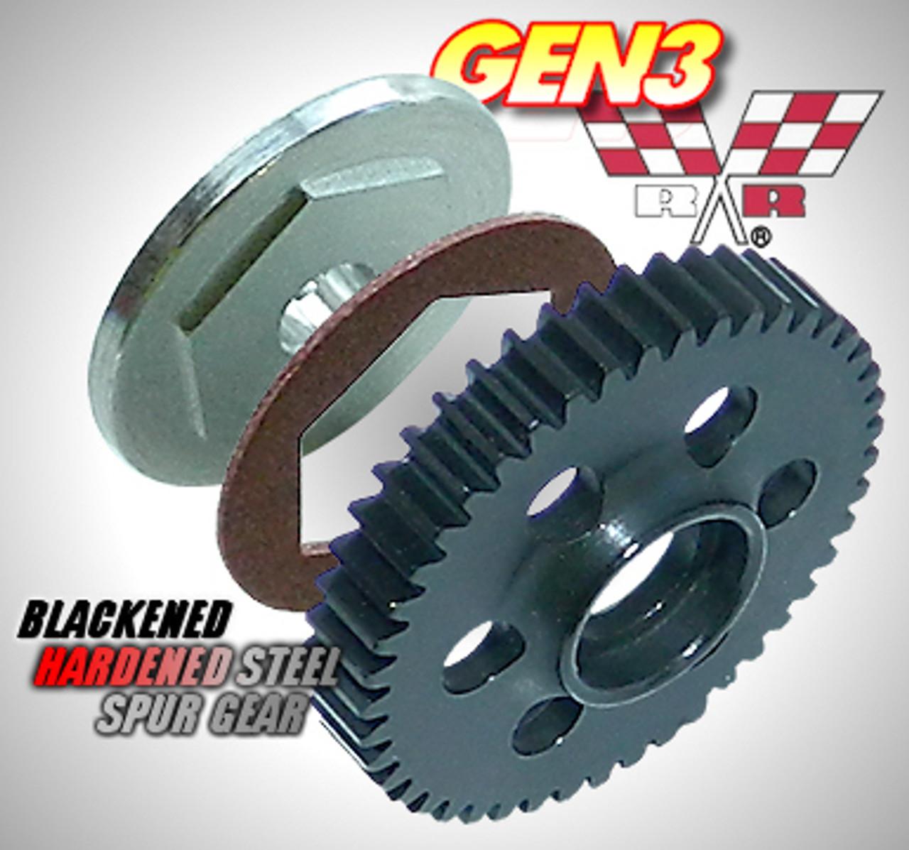 45T RRP7745 Robinson Racing 1//16 Revo//Summit Gen3 Slipper Kit