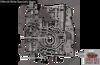 Volvo 4T65E Valve Body 2003-UP, 893 Casting