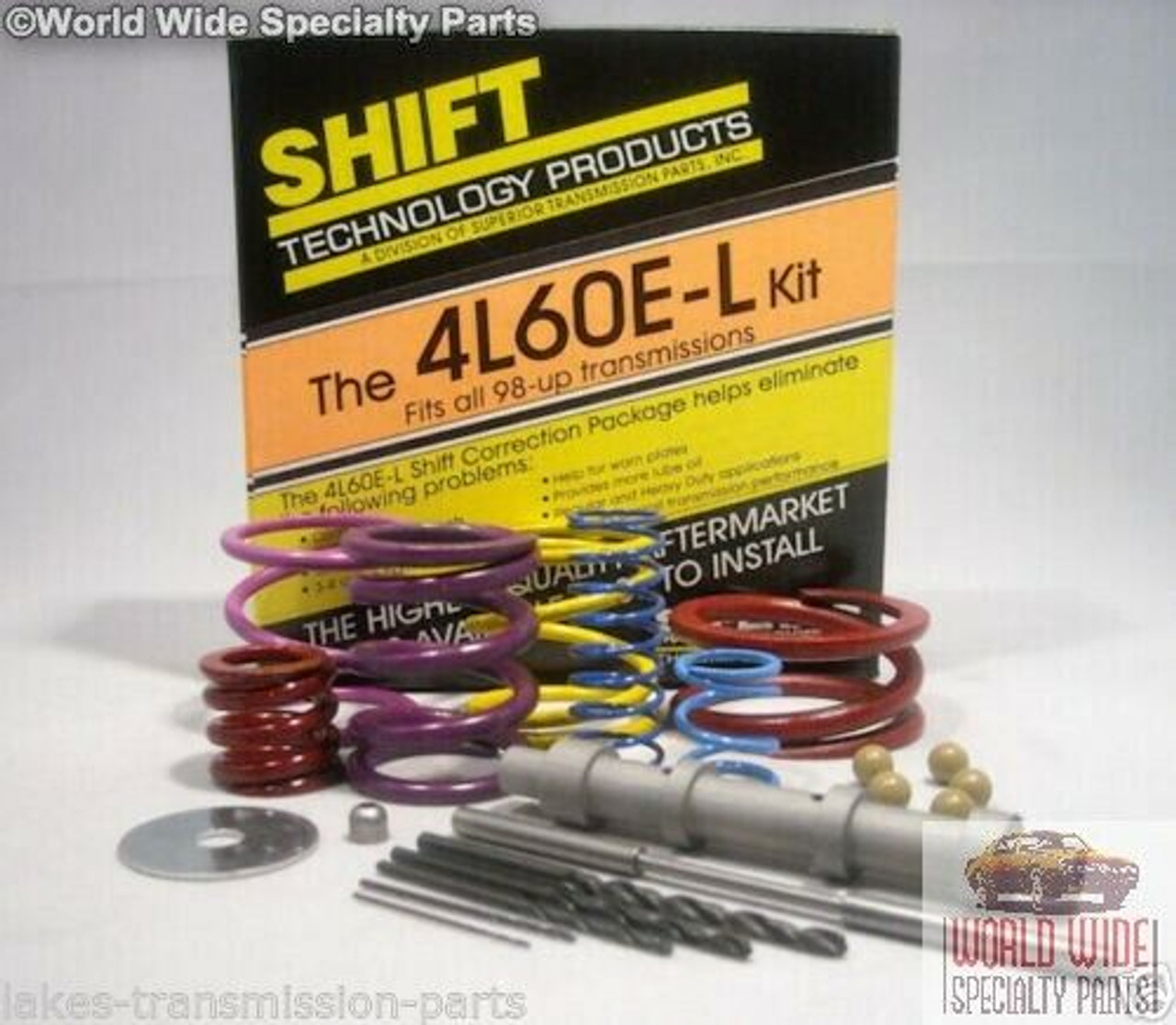 GM 4L60E Transmission Shift Correction Kit 1993-1997 with Superior Updates