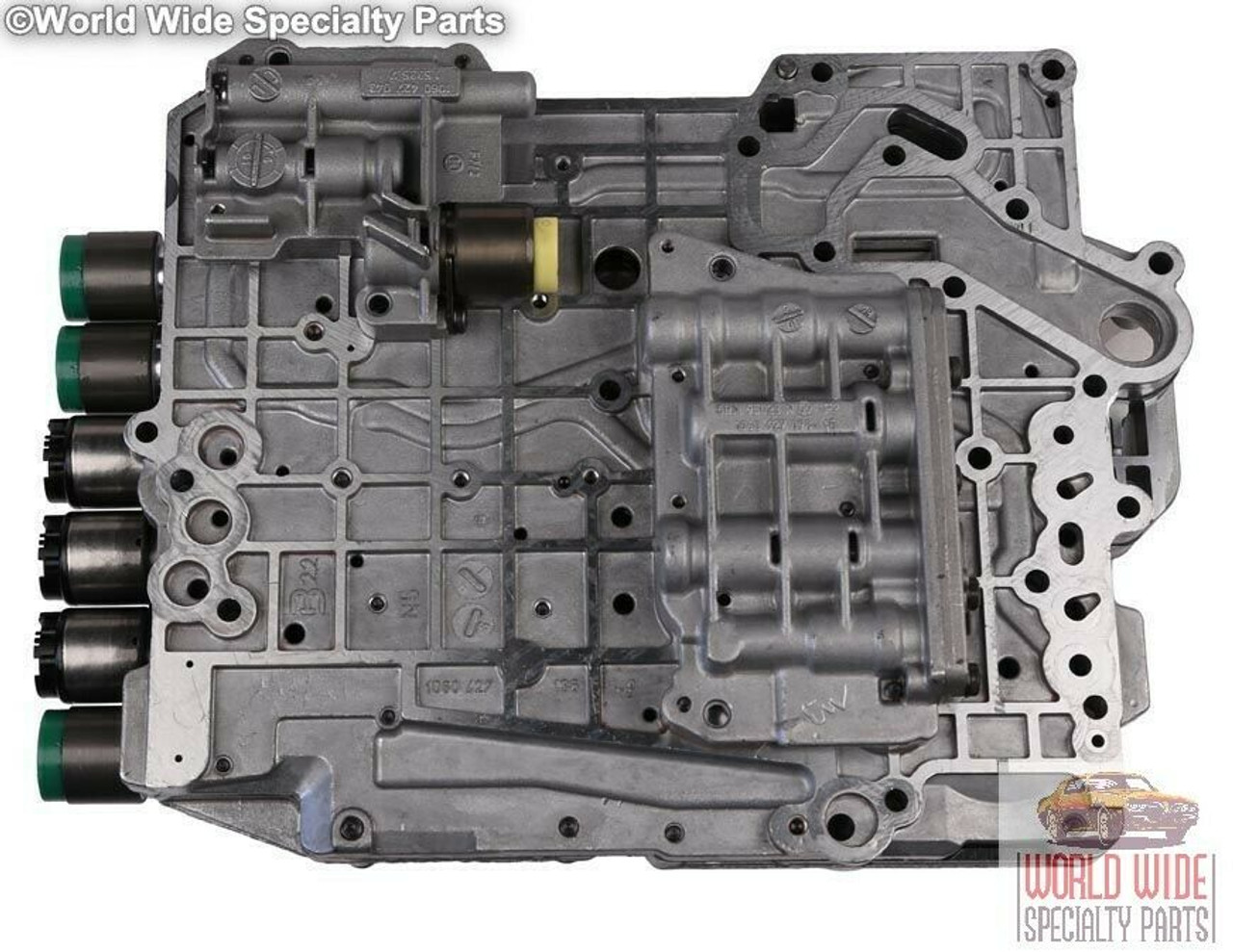 ZF 5HP19, 01V Valve Body Rebuild and Return Service - No Bolt on Speed Sensors