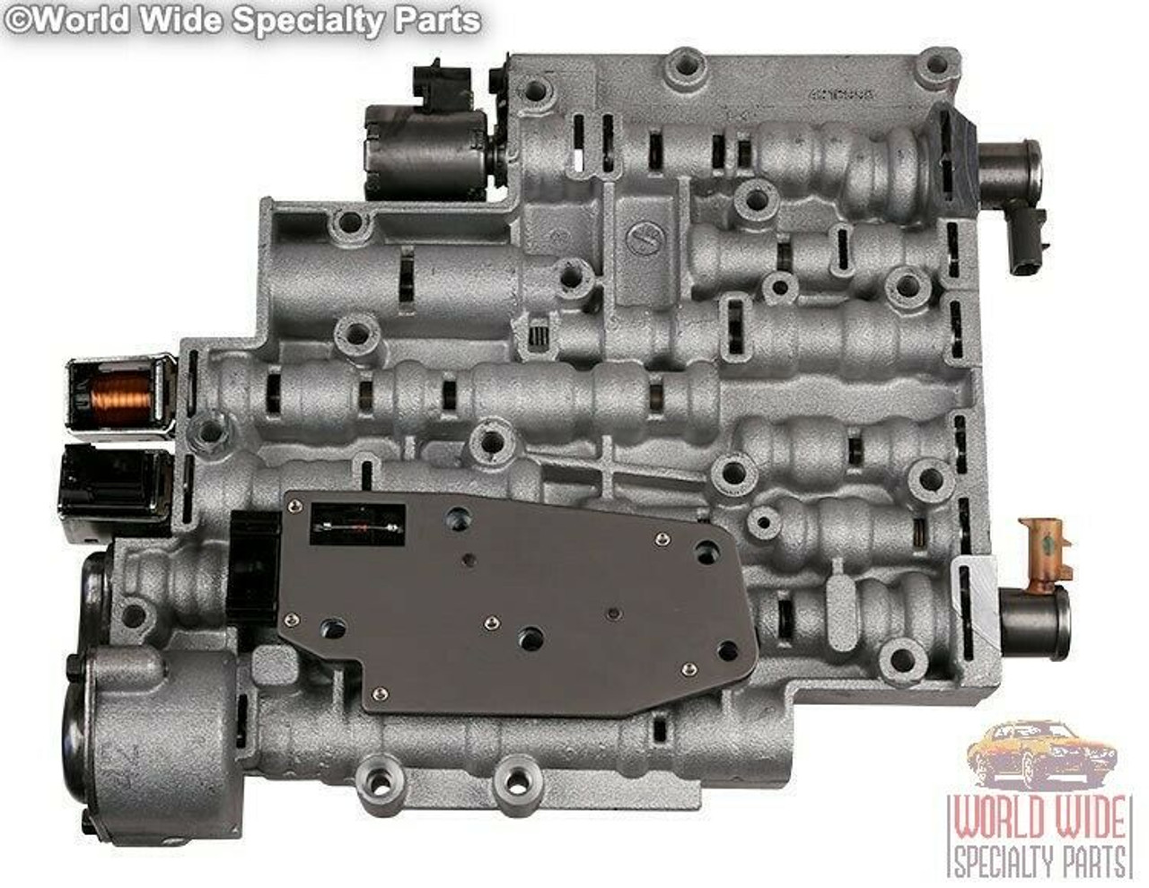 GM 4L60E, 4L65E, 4L70E Valve Body 2003-2008 w/ Transgo 4L60E-HD2 Kit Installed